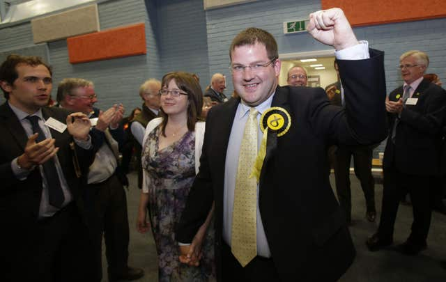 Mark McDonald has resigned from the SNP but will continue as an independent MSP (Danny Lawson/PA)