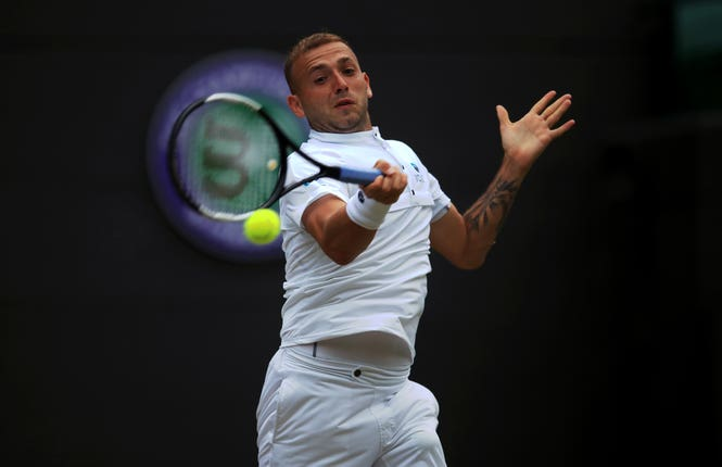 Dan Evans heads into the US Open ranked 58th in the world.