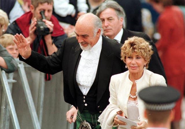 Scottish parliament Connery