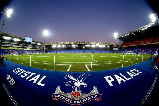 Selhurst Park is likely to be empty for the foreseeable future