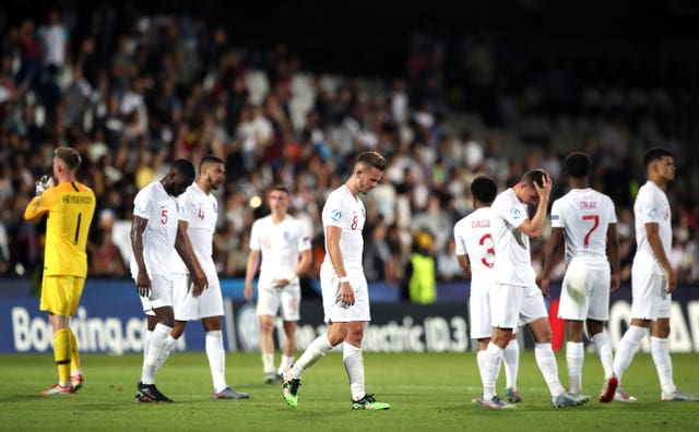 England suffered defeat to France following a late own goal