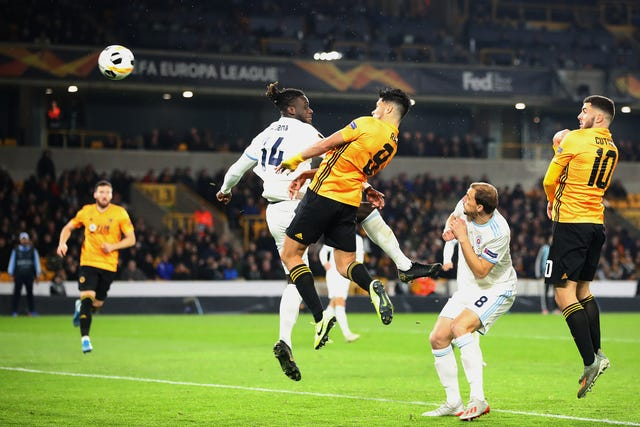 Raul Jimenez sealed victory for Wolves with a late header