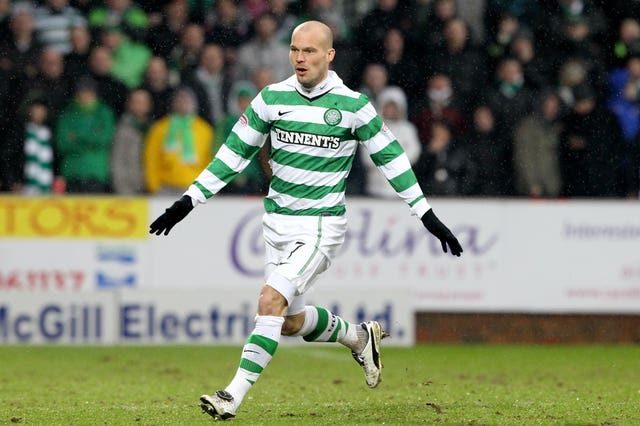 Ljungberg joined Celtic towards the end of his football career - but he could have taken up professional handball as a child instead.
