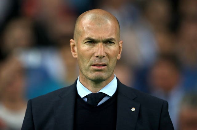 Zinedine Zidane has been linked with Jose Mourinho's job (Nick Potts/PA).