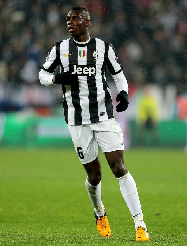 Pogba was a victim of racial abuse during his time in Italy