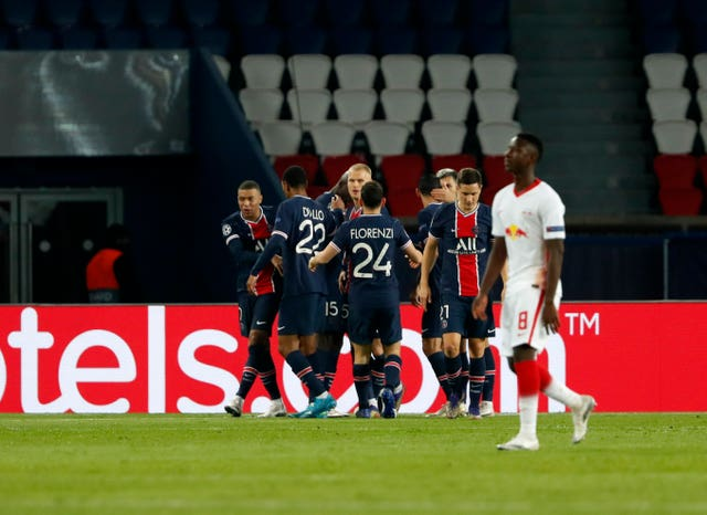 PSG are second in Group H after last week winning 1-0 against RB Leipzig, who are also on six points