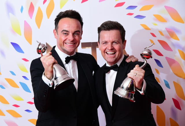 Anthony McPartlin and Declan Donnelly
