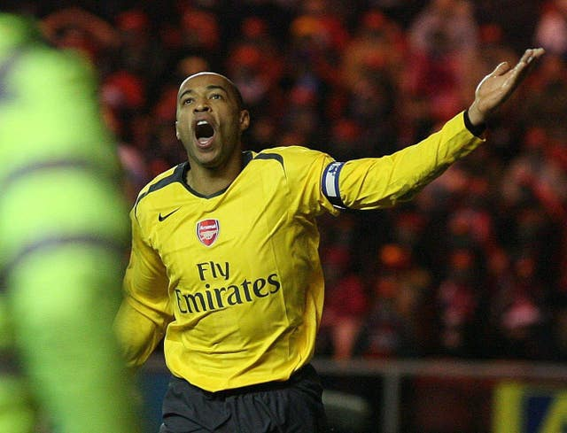 Henry scored a record 228 goals during two spells at Arsenal.