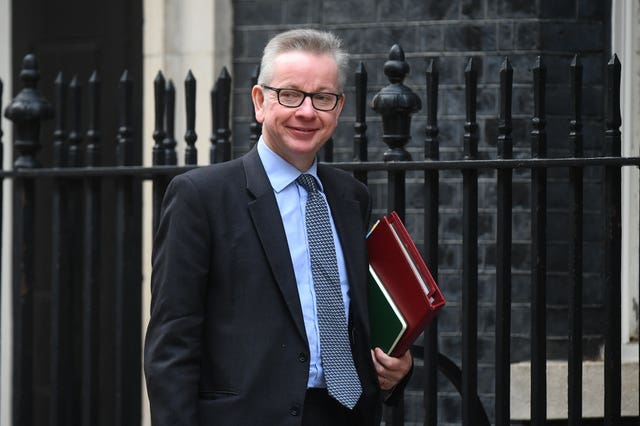 Environment Secretary Michael Gove  (Victoria Jones/PA)