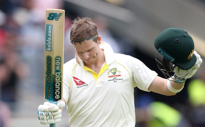 Steve Smith starred in the first Test