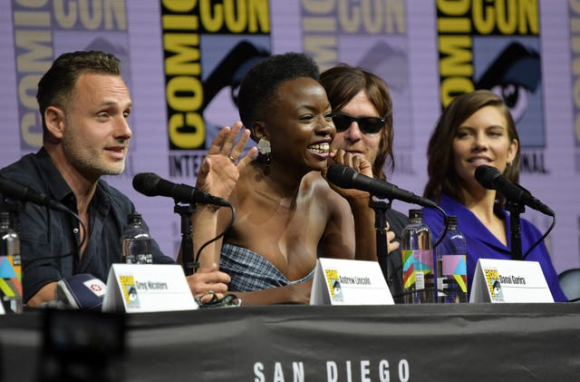 "2018 Comic-Con – ""The Walking Dead"" Panel"
