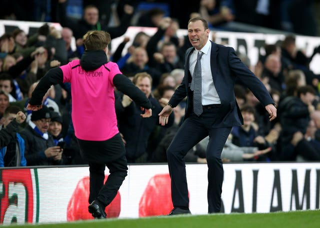 Everton caretaker manager Duncan Ferguson was able to celebrate a win during his first game in charge as the club he played for beat Chelsea 3-1