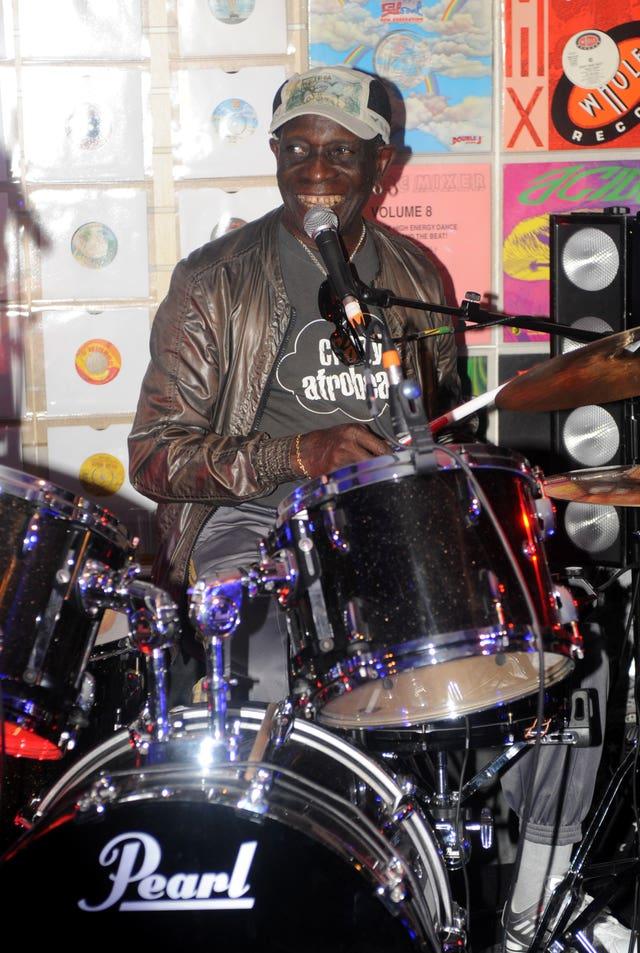 Drummer Tony Allen dies