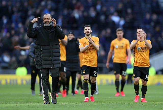 Nuno Espirito Santo could guide Wolves in the Champions League, with the recent victory at Tottenham boosting their top four chances