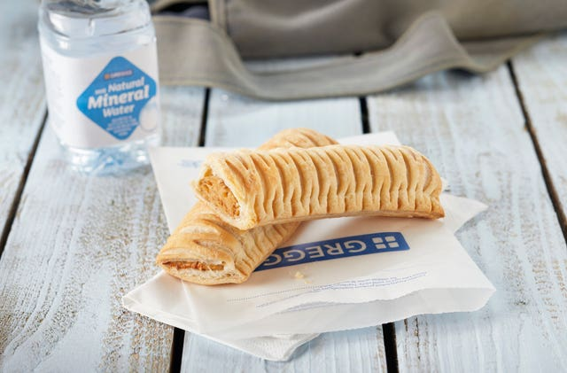 Greggs launch vegan sausage roll