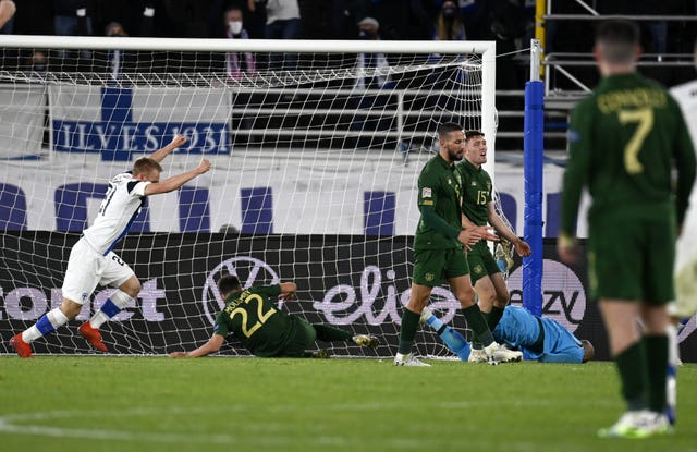 Republic of Ireland fell to another defeat