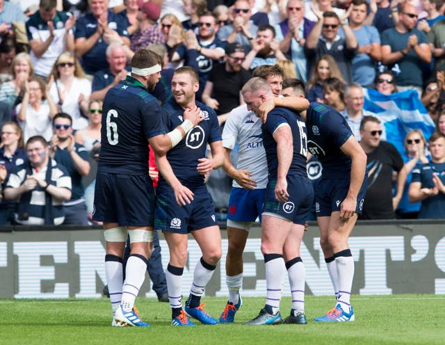 Scotland beat France 17-14 in Edinburgh on Saturday