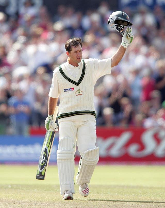 Ricky Ponting made a match-winning century against Bangladesh (Martin Rickett/PA)