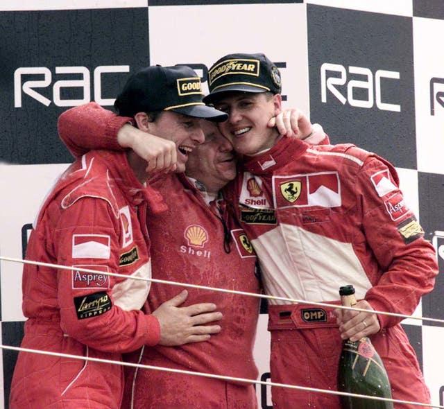 Schumacher was dominant at Ferrari