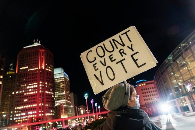 Election 2020 Protests Detroit