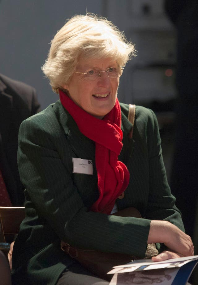 Lady Jane Fellowes will give a reading (Arthur Edwards/Sun/Pool/PA)