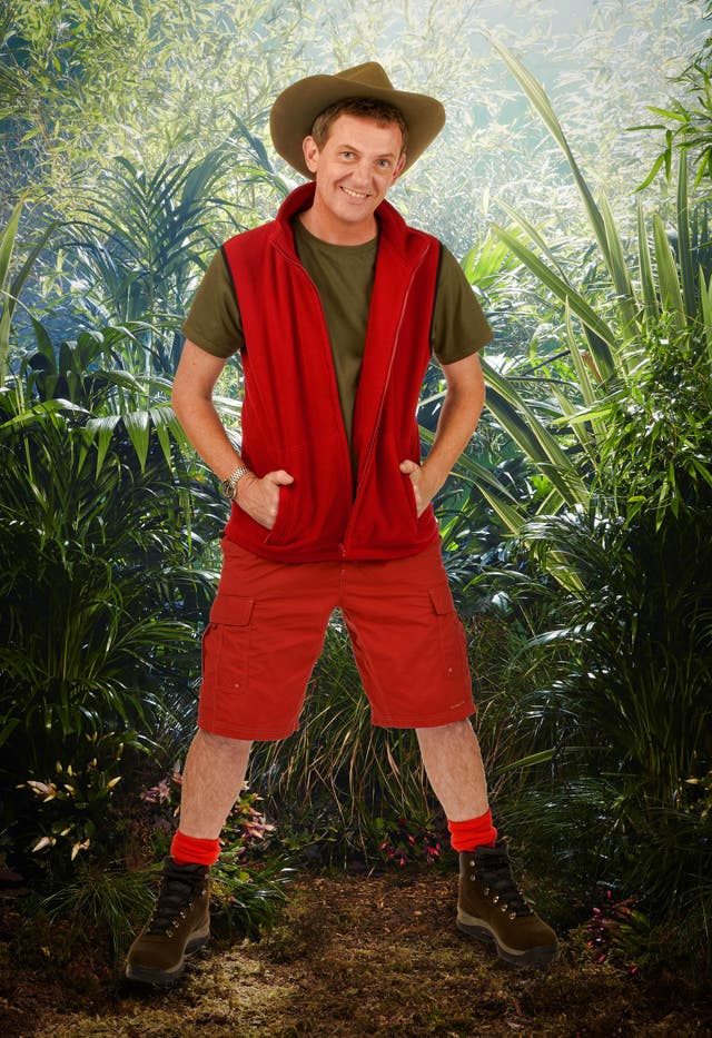 Matthew Wright took part in I'm A Celebrity … Get Me Out Of Here! in 2013 (Julie Holder/ITV/PA)