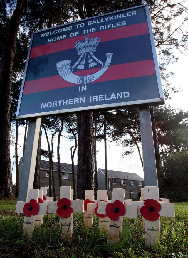 Ballykinler soldiers inquests