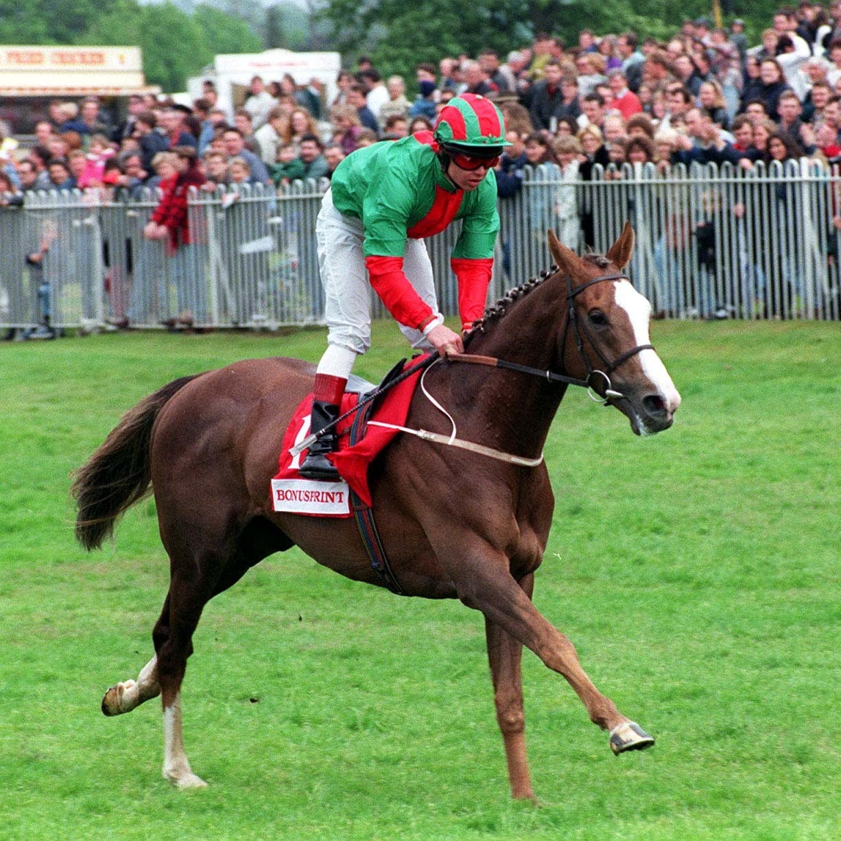 Double Trigger was a hugely popular stayer for Mark Johnston