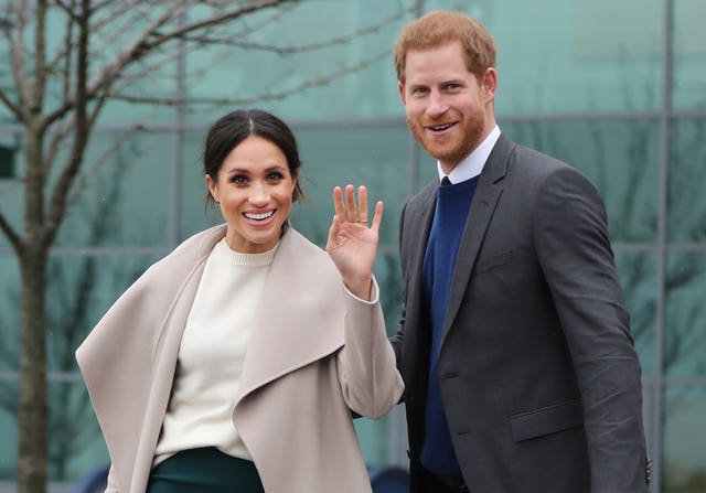 Prince Harry and Meghan Markle (Niall Carson/PA)