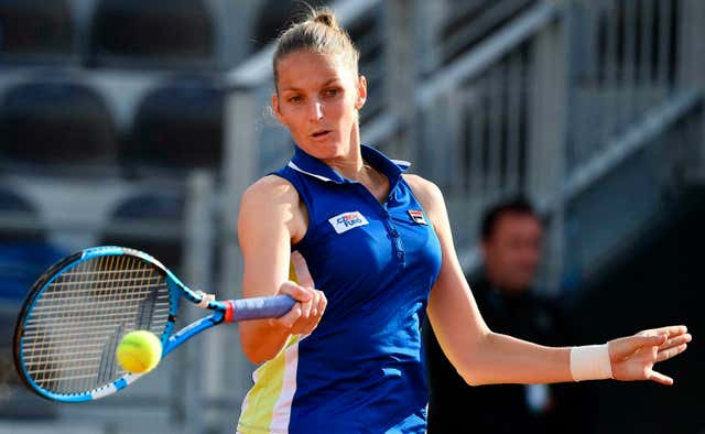 Karolina Pliskova was in fine form in Rome