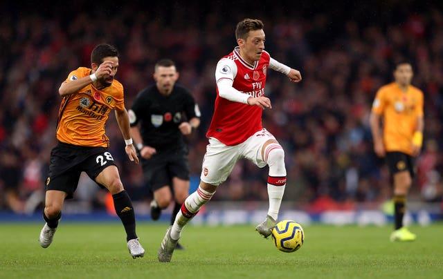 Amnesty International have praised Arsenal's Mesut Ozil for speaking out.