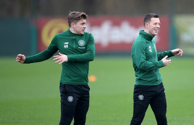 Celtic Training and Press Conference – Lennoxtown
