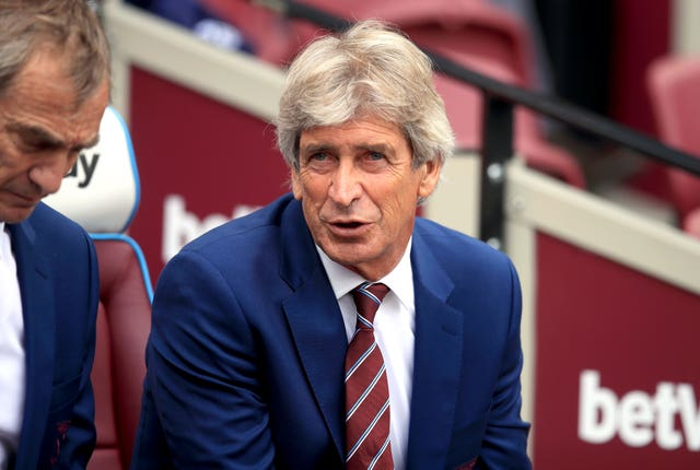 West Ham manager Manuel Pellegrini saw his side well beaten on Saturday