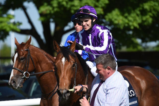 Donnacha O'Brien bidding for more big-race success after claiming the 2000 Guineas aboard Saxon Warrior at Newmarket on Saturday
