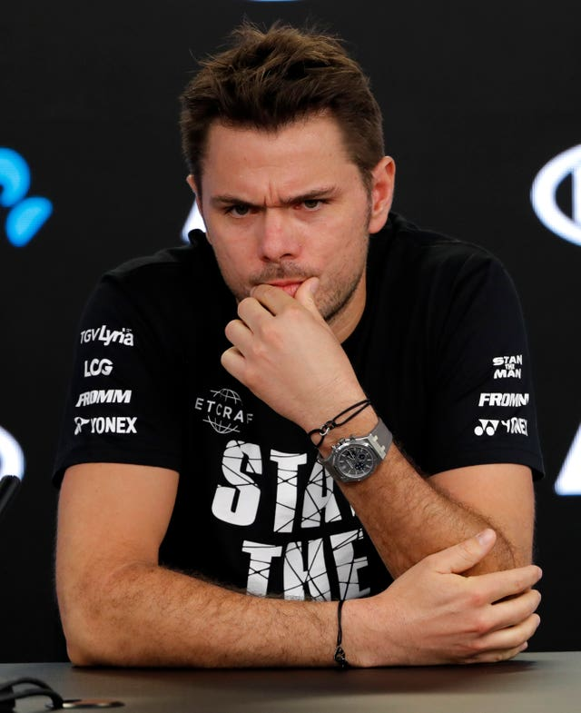 Stan Wawrinka is coming back from injury at the Australian Open