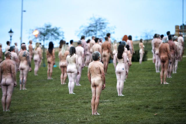 Everyone Together by Spencer Tunick and Sky Arts