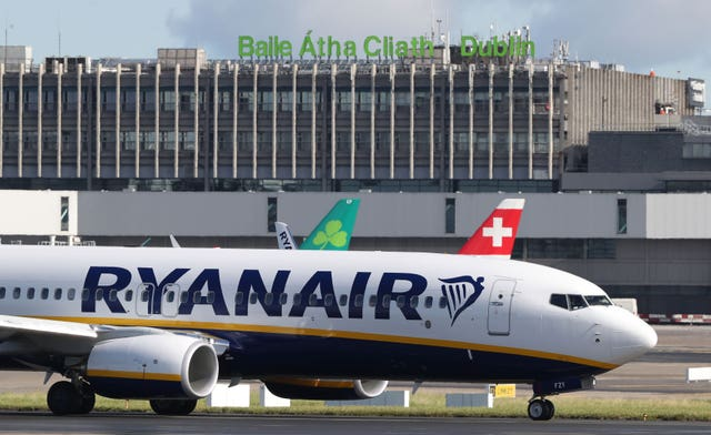 Ryanair had one of the largest gender pay gaps (Niall Carson/PA)