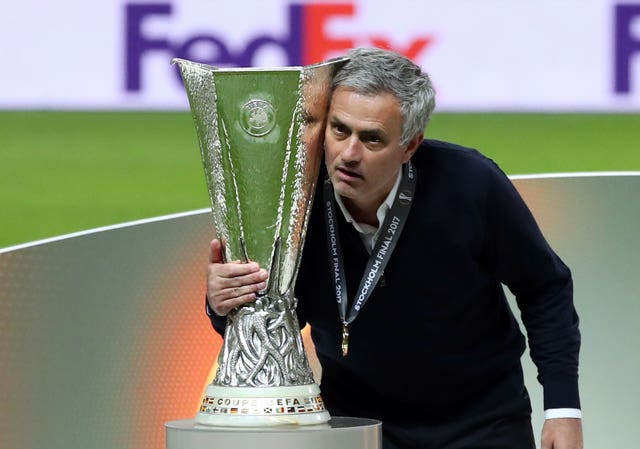 United won the Europa League as well in 2017, but it would prove the last trophy of Mourinho's spell