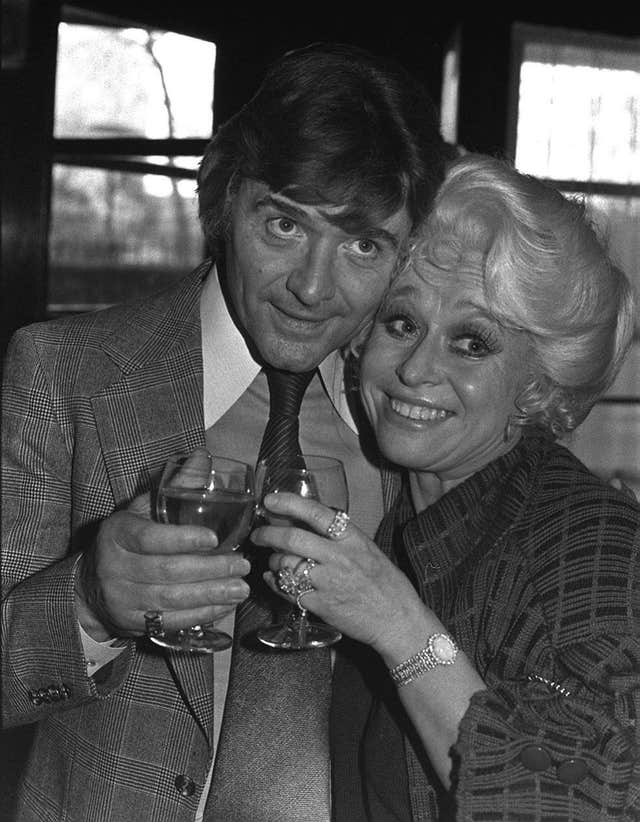 Barbara Windsor and Ronnie Knight