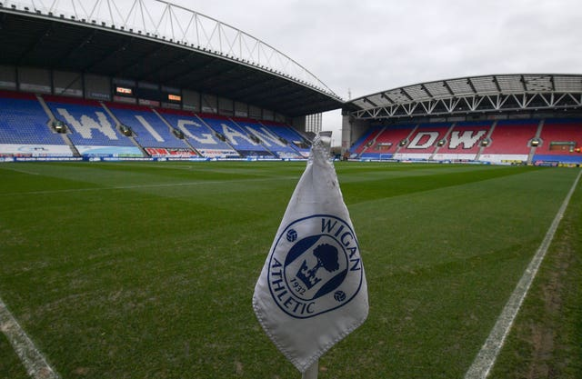Wages of Wigan staff for June have now been paid in full, administrators said