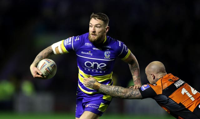 Warrington's Daryl Clark scored Great Britain's only try