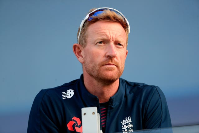England coach Paul Collingwood