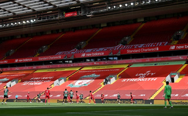 Liverpool v Aston Villa – Premier League – Anfield
