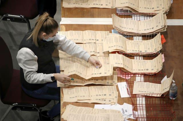 Scottish Parliamentary Elections 2021