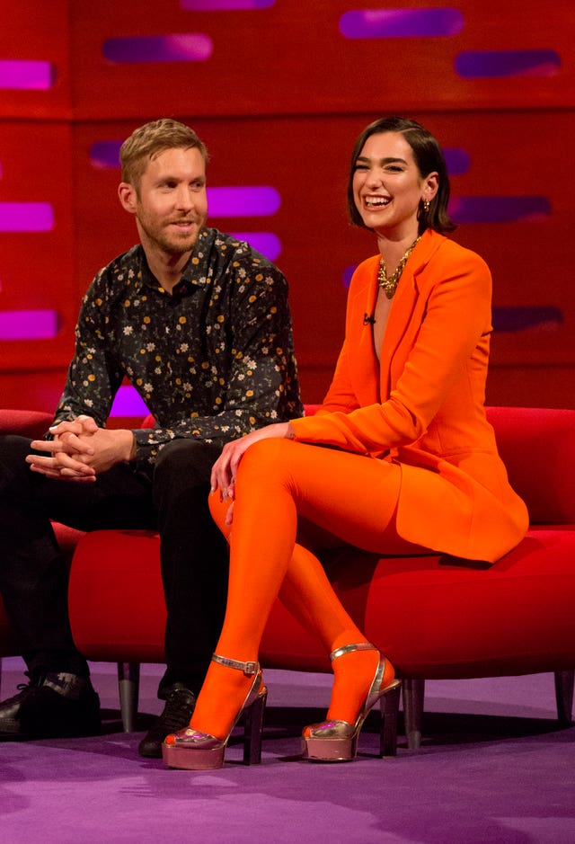 Calvin Harris and Dua Lipa have climbed to number one on the Official Singles Chart