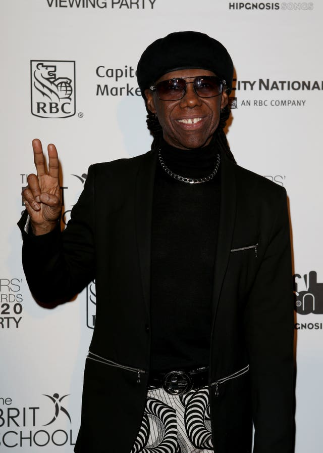 CHIC and Nile Rodgers BRITS party – London