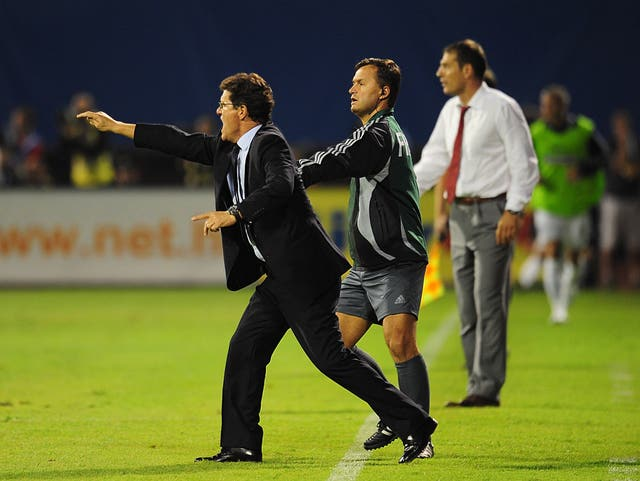 Fabio Capello replaced Steve McClaren as England boss and oversaw the 4-1 win in Croatia.
