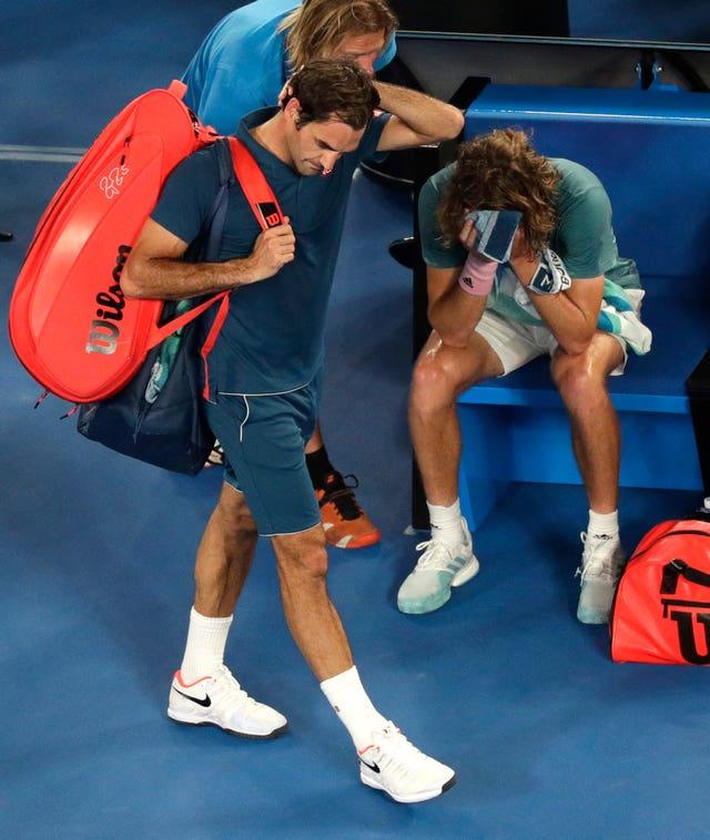 Roger Federer was stunned in the fourth round of the Australian Open by Greek 20-year-old Stefanos Tsitsipas