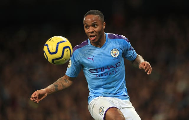 Raheem Sterling is currently out with a hamstring injury