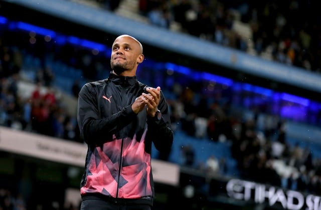 Vincent Kompany left Manchester City for a management role in Belgium